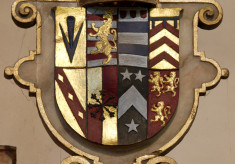 Shield, arms of the Sidney family
