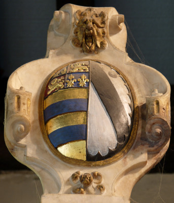 Oval shield of Earl Francis and Countess Frances (Knyvet) | Neil Fortey