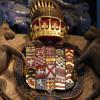 Heraldic shield of Francis Manners, 6th Earl of Rutland