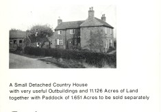 The Homestead, Normanton, sales brochure