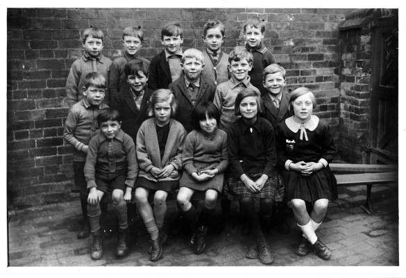 School children at Great Gonerby, Barrowby or Bottesford - the location needs to be investigated | Neil Fortey