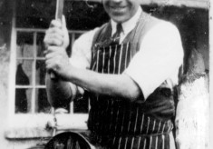 Mr Taylor, the butcher