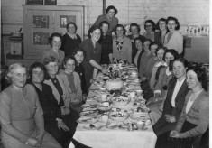 Mother's Union dinner, Bottesford, c.1950