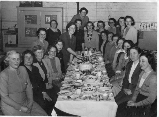 Mother's Union dinner, village school | Neil Fortey