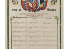 Bottesford Methodist Chapel 1st World War Roll of Honour
