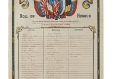 Bottesford Methodist Chapel 1st World War Roll of Honour