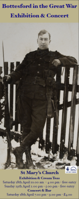 Bottesford in the Great War | Image Courtesy of Mrs. A Pacey & family