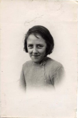 A portrait of Betty as a young girl, aged about 9, taken in the late 1930s | Contributed by Mrs Betty Topps