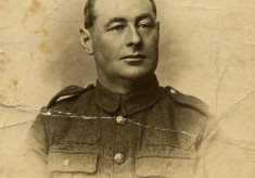 Private William Bryan, Army Service Corps, WW1