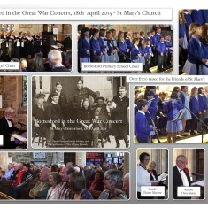Bottesford in the Great War Concert 18th April 2015   Bottesford Community Heritage Group