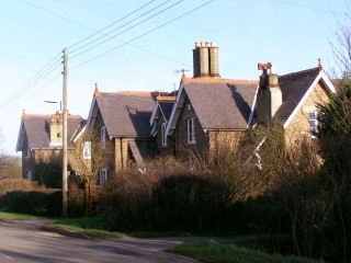 The estate cottages built on Normanton Lane in the late 19th Century. The Bryans porbably lived in the cottages furthest from this point of viewing. | Neil Fortey