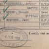 RFA Medal Roll Listing - 4th February 1920