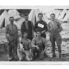 Group of men at RFA camp