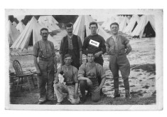 Group of men at RFA camp