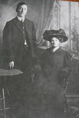 Thomas James and Katherine Sordy