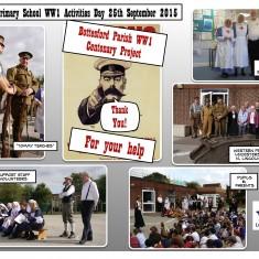Bottesford Primary School 1st World War Activities Day