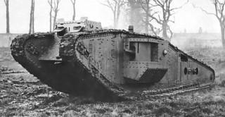 A British Mark IV Tank | Wikipedia