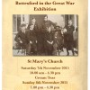 Bottesford in the Great War Exhibition