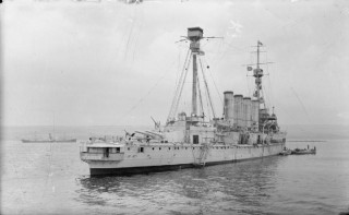 This armoured cruiser, H.M.S. Shannon, was James Schofield last vessel during his service career. | Wikipedia