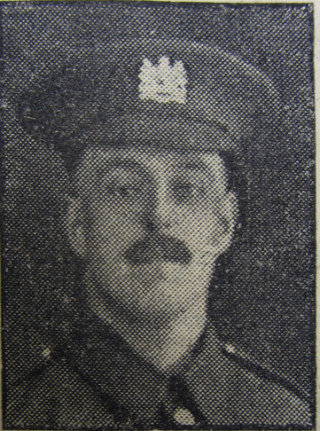 Joseph William Matthews, Pte., 2/8th Worcestershire Regiment | Courtesy of the Grantham Journal