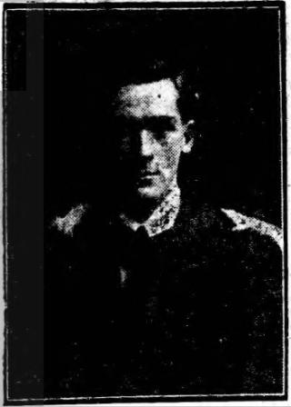 Lieutenant Lionel May King, obituary photograph | Grantham Journal