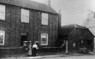William Miller's House, Bottesford High St, photographed around the turn of the century. | Bottesford Local History Society archive