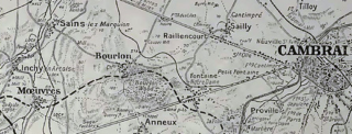 Bourlon and Cambrai Map | BCHG Archive