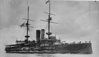 HMS Glory between 1910 and 1915. | George Grantham Bain collection at the Library of Congress: made available by Wikipedia.
