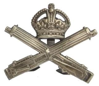 Machine Gun badge | Courtesy of Philip Cobb