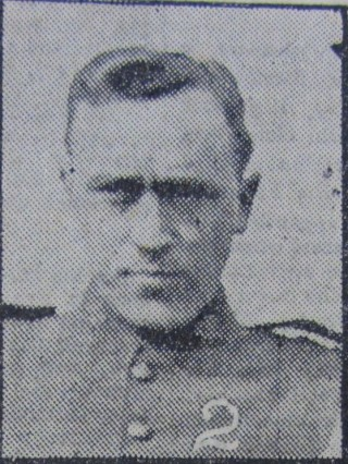 Pte. Robert Turlington Nobel Page, 44th Battalion, Canadian Expeditionary Force | Courtesy of the Grantham Journal
