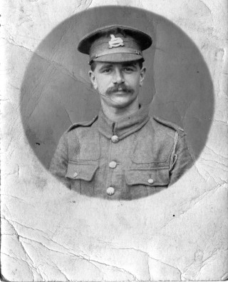 Private William Palmer, 2nd/6th Battalion North Staffordshire Regiment | From the collection of Mrs. M. Smith