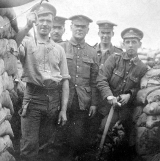 1st Btn Sherwood Foresters on Aubers Ridge, 1916 | Trent-to-Trenches.co.uk, courtesy of the Museum of the Mercian Regiment
