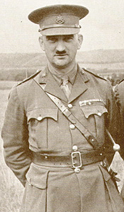 Lieutenant-Colonel Bernard Donald Ogden, 1937, Arundel Camp | Reproduced by permission of the Surrey Infantry Museum