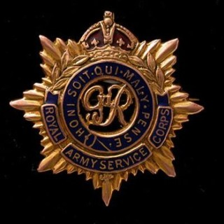Royal Army Service Corps cap badge from WW1 | Wikipedia
