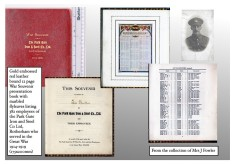 Pte. Thomas Boulton (3rd York & Lancs) and The Park Gate Iron & Steel Works Co. Ltd., Rotherham War Souvenir Roll of Honour