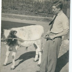 Richard Donger and Bull | From the collection of Richard Donger