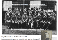 'Reading' WW1 Photographs