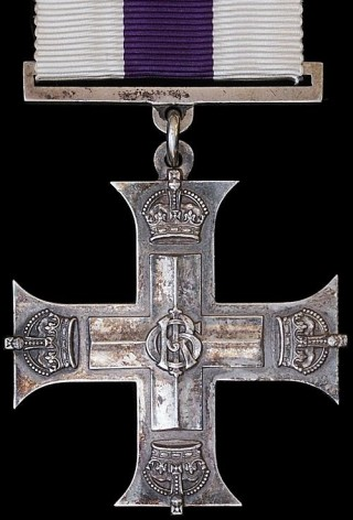 The Military Cross, awarded for conspicuous gallantry