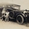 Vintage car, Sharpe children