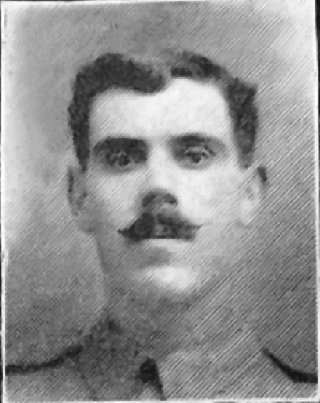 Pte. Ernest Wakefield   Courtesy of the Grantham Journall