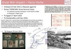 Harry Harby's War