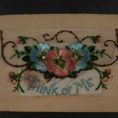 Silk Postcard from Florrie Harby's album | Glenys Claricoats
