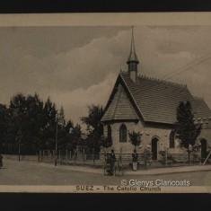1915 / 1916 Church in Cairo | (Glenys Claricoats)