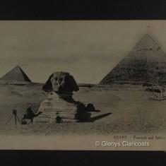 1915 / 1916 Pyramid and Sphynx | (Glenys Claricoats)