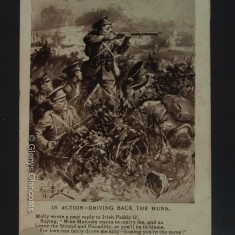 25 March 1915 (Front) IT'S A LONG LONG WAY FROM TIPPERARY In Action - Driving Back The Huns Molly wrote a neat reply to Irish Paddy O', Saying