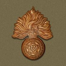 Royal Fusiliers WW1 cap badge. | Wikipedia