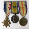 Robert Johnson Kirton's service medals