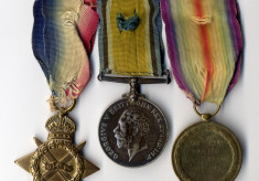 Robert Johnson Kirton's service medals