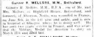 Grantham Journal 13th July, 1918, article. | British Newspaper Archive