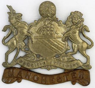 Manchester Regiment cap badge, WW1 | Wikipedia